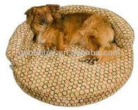 2013 newest round shape plush pet dog sofa bed for sale