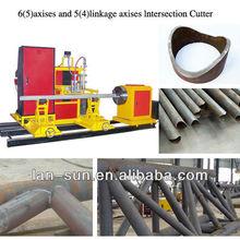 steel truss working auto CNC steel pipe cutting machine