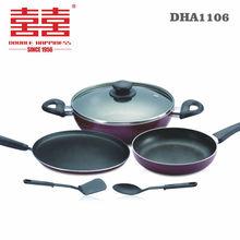 6pcs induction non-stick cookware set