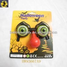 Horror Shock Pop Eyes Halloween Glasses with Nose