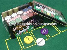 200pcs poker set in tin