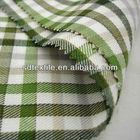 yarn dyed cvc fleece fabric for shirt