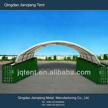 JQR2040C steel frame container canopy
