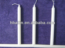 Paraffin Wax White Candle/velas