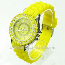2013 new watch PC21 japan movement good quality customized watch diamonds