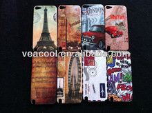 Paris Travel LA Tour Eiffel Tower Plastic Hard Back Phone Case Cover Skin for Apple iPod Touch 5 5th
