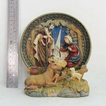 Jesus Christmas Story of Jesus birth sculpture