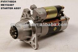 mitsubishi starter motor for FV517/6D24