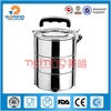 stainless steel double wall food storage container