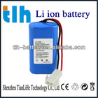 High quality 7.4v 2AH li-ion battery pack for LED light
