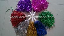 Sports glitter cheerleading pompoms