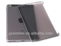2013 TPU glossy transparent thin gel case for ipad mini
