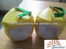 36led hand crank multi-function unique solar charger led lantern