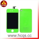 Back cover with homebutton for new iphone 4 color conversion kits