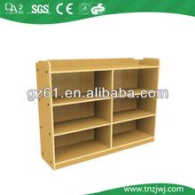 cheap preschool wooden furniture, children cabinet closet for sale