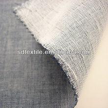 Hilados de algodón teñido de cambray de doble tela de tejido de la