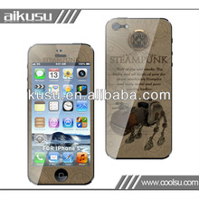 anti scratch for iphone 5 3d screen protector