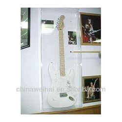 Yiwu OEM Clear Acrylic Electric Guitar Display Case