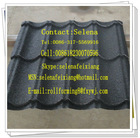 Colors stone-coated metal roof tile forming,Automatic Colorful and metal stone-coated roof tile
