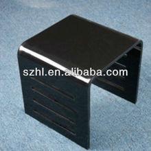 modern clear lucite designer desk chairs