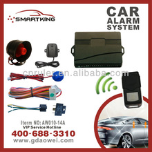 TOP SALES Anti-robbery Car Security Alarm One Way Car security alarm system car accessories ford focus
