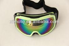 Aviator Motorcycle Motorcross Steampunk Ski Green Fram Goggles Eyewear