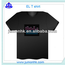 1000 Designs For Parties&Sports! EL Panel/LED T Shirts equalizer