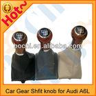 Car Wood Gear Shift Knobs for Audi A6L