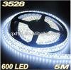 SMD 3528 led strip lights white white 4.8W 9.6W waterproof