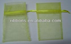 silk scree logo print on Velvet pouch for gift organza bag