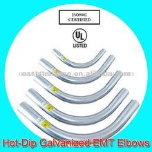 hot dip galvanized emt steel elbow
