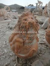 Sleeping Lion Statue