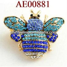 fashion metal animal bee shaped ring rings jewellery