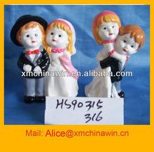 bonecas de cerâmica para o casamento
