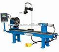 Horizontal hf-300w costura circular automática equipamentoparasoldagem para pata/mag/mig/processo tig com controle do plc