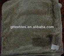 FAUX FUR rabbit cushion cover,