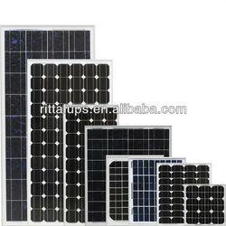 36V 100W to 300W solar panel for solar system solar panel price per watt
