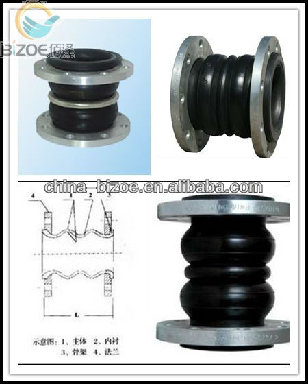 2013 Hot sales rubber pipe joints with flange