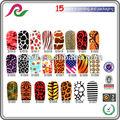 nuovo 3d nail art smalto fogli adesivi decal avvolge punte acrilico decorazione fai da te