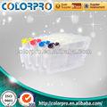 Brand novo cartucho vazio recarregáveis para ricoh gc31( y) cartucho de tinta com chip arc para gx-e7700/e5500