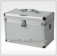 Household Layered Aluminum alloy mall lighting cd storage case