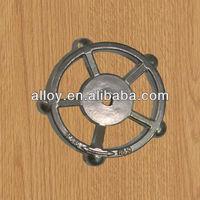 The 3-way valve hand wheel