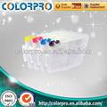 Best selling vazio cartucho recarregável para ricoh gc31( bk cmy) cartucho de tinta com chip arc para gx-e7700/e5500
