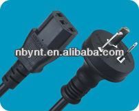 Australia computer extension power cord with IEC 320 C13 connector