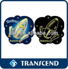 fluorescent magnetic photo/picture frame for decoration fridge magnet