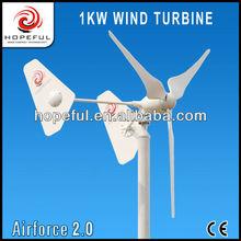 1000W home horizontal twin tails windmills
