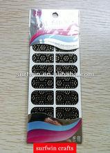 Hot bling nail sticker, nail design stickers, nail art