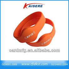 Proximity card/RFID cheap silicone wristbands TK4100