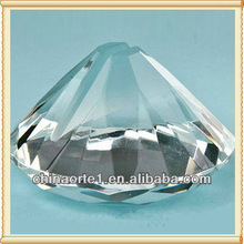 Clear Diamond Wholesale Crystals As Place Card Holder