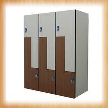 Compact HPL school locker/bath center locker